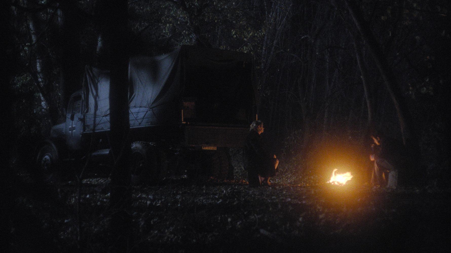 Kamion u šumi